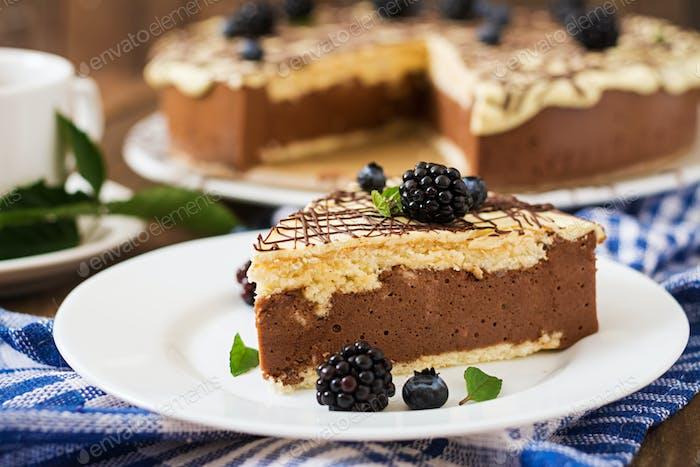 """Schokoladenkuchen """"Vogelmilch"""""""