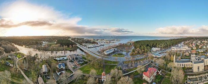 View to Pirita river in Tallinn