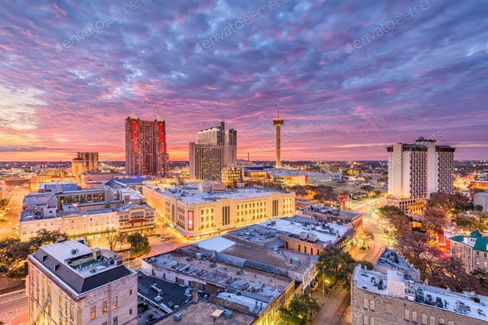 San Antonio, Texas Skyline