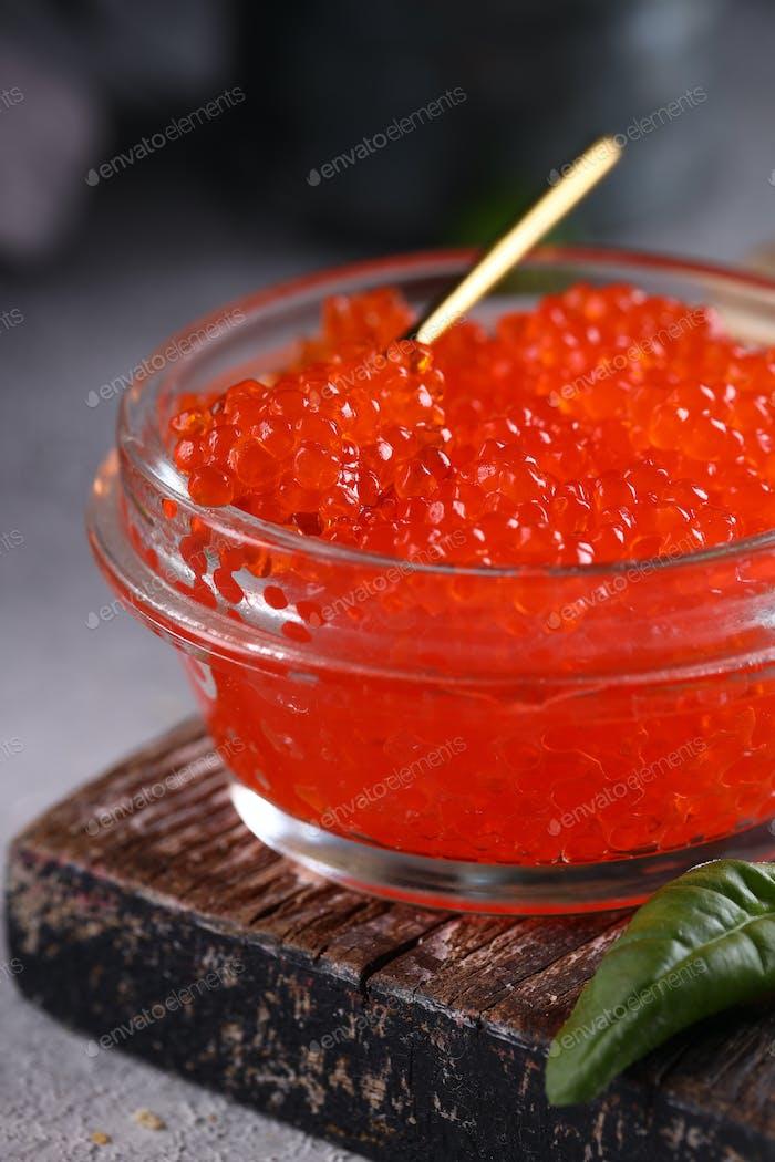 Roter Gourmet-Kaviar