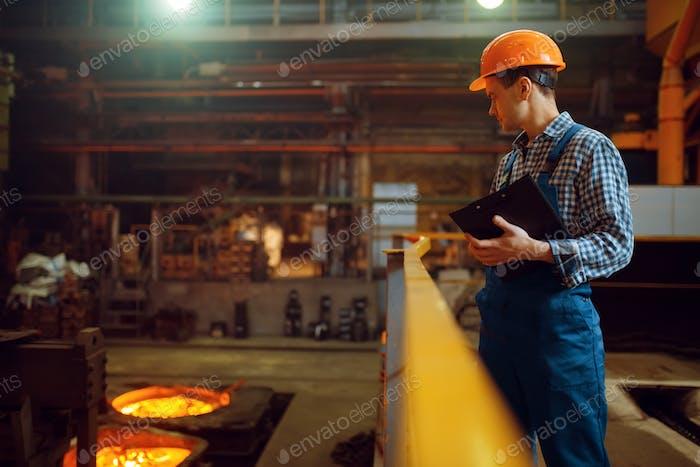 Steelmaker steuert die Stahlherstellung im Werk