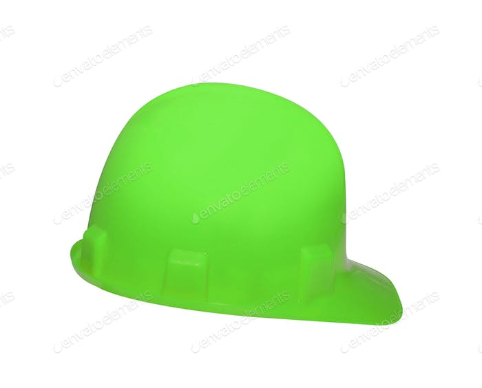 safety helmet isolated on white
