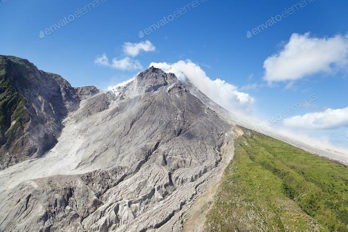 Volcán Soufriere Hills, Montserrat