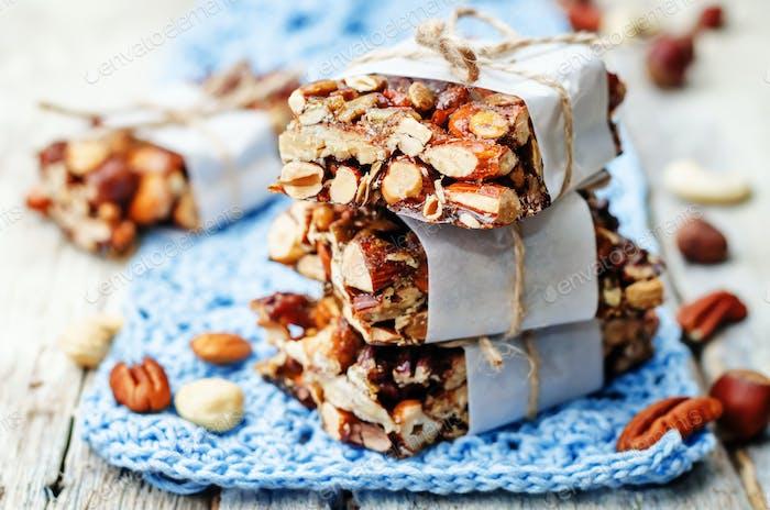 Nuts bars