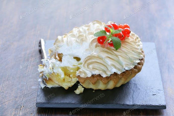 Tart With Lemon Cream And Meringue
