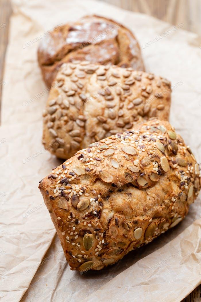 Bread background.