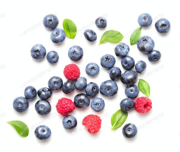 various berry fruits