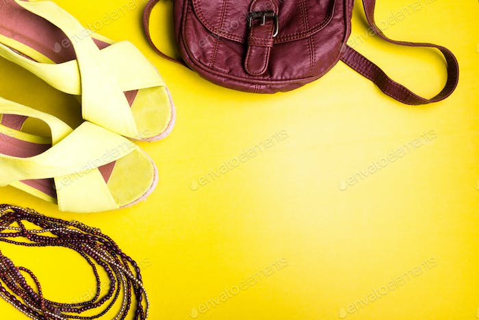 Set of Woman Things Accessories