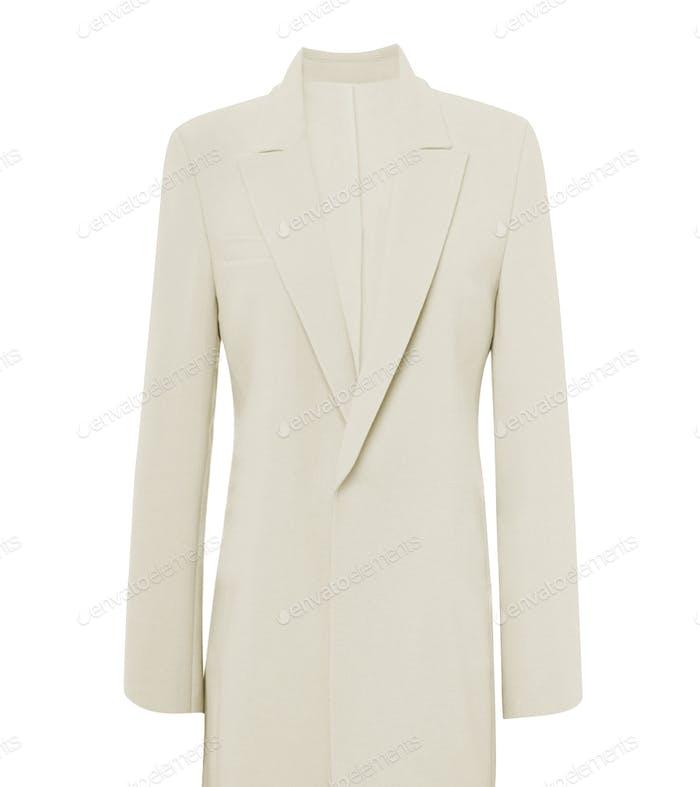 winter coat isolated