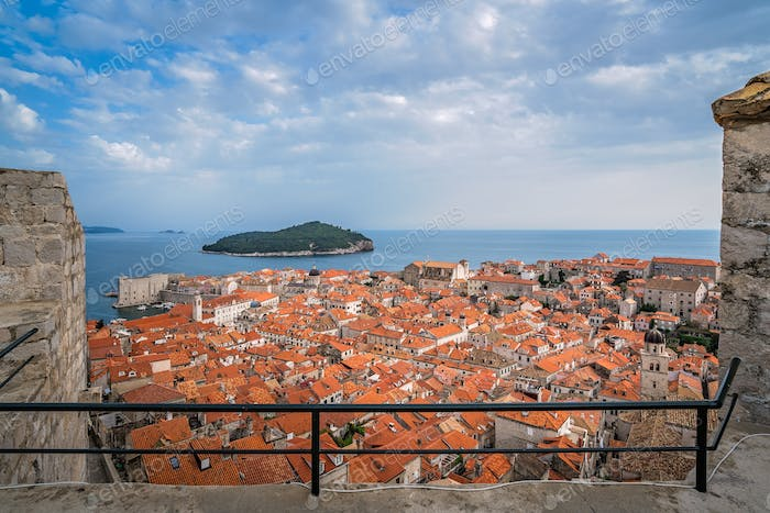 Thumbnail for Rooftops of old houses in Dubrovnik