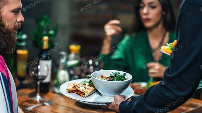 Cena Romántica Vegetariana