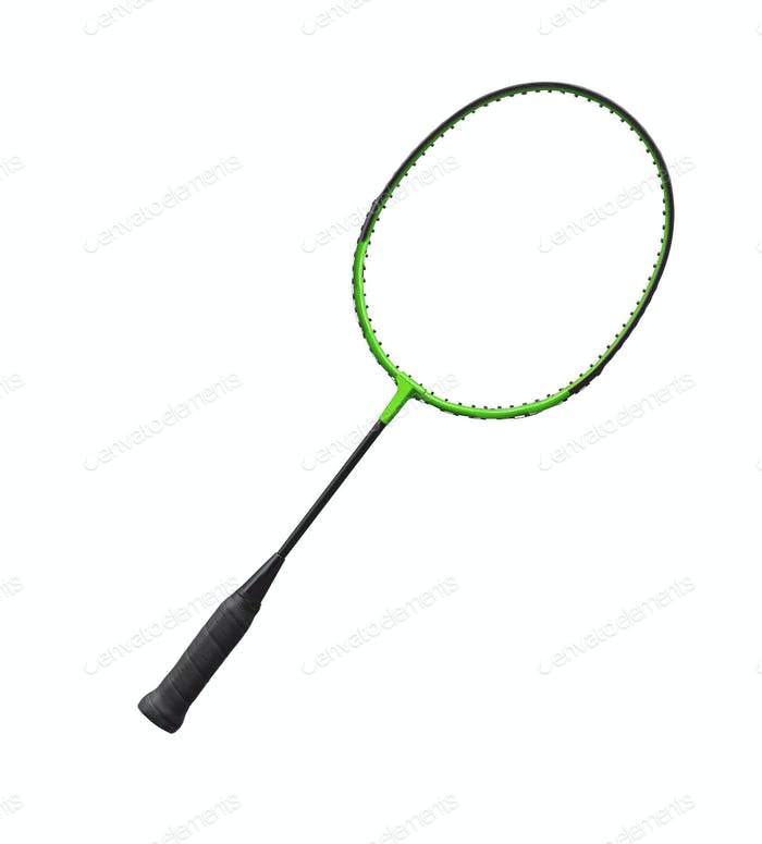 Racket isolated