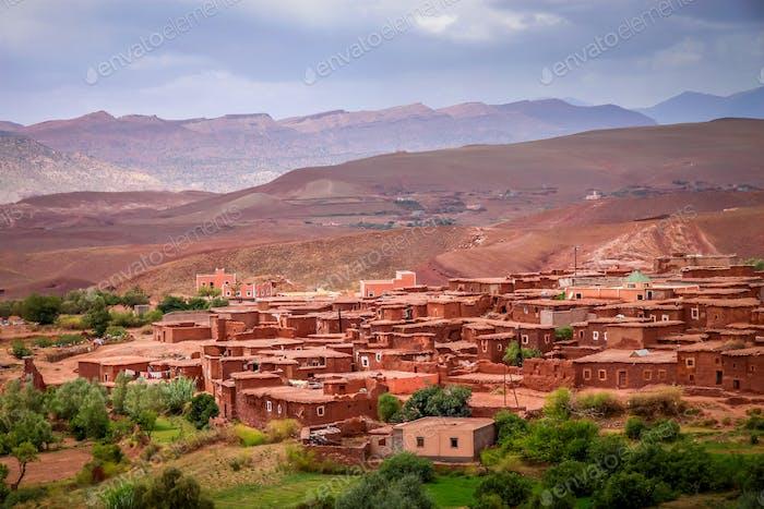 Kleines Dorf Telouet