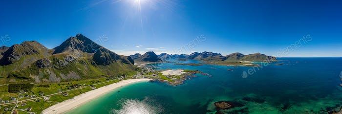 Strand Lofoten Inseln Strand