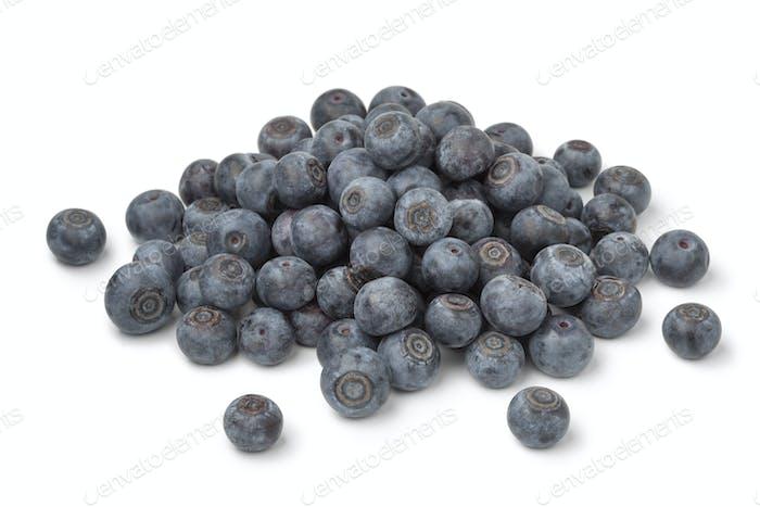 Heap of fresh blue berries