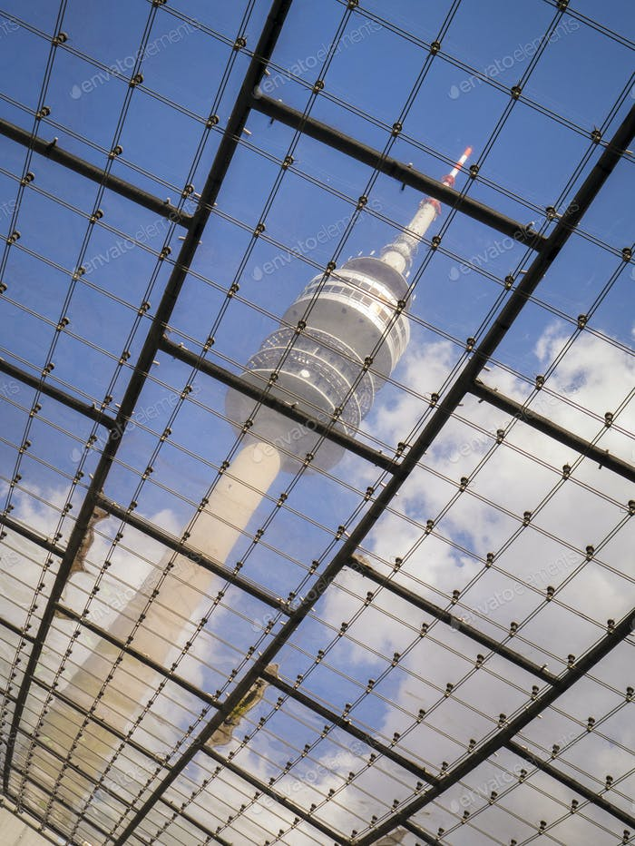 the television tower of Munich Bavaria Germany