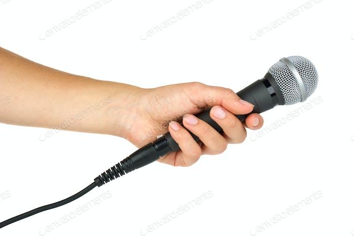 Ручной микрофон