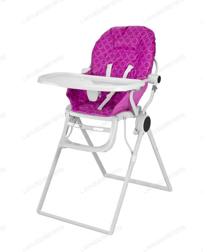 Baby High Chair isolated