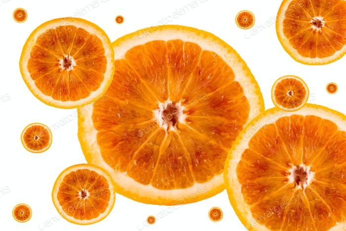 Half orange pattern