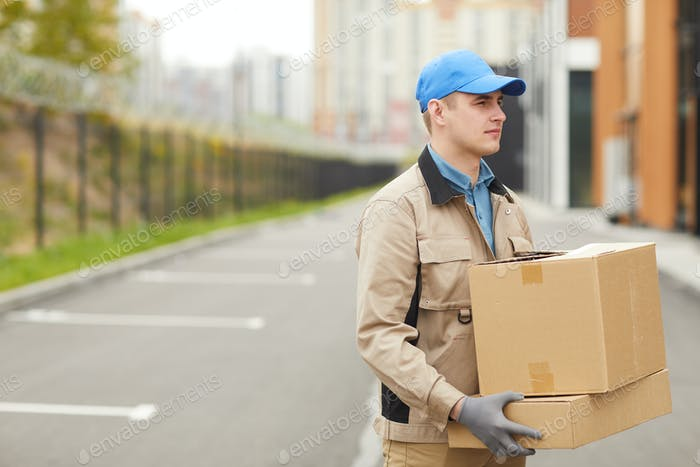 Kurier-Versand Pakete