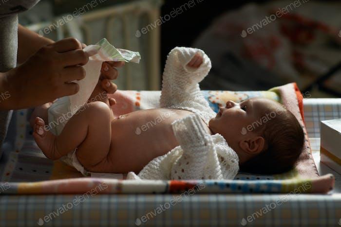 Mama Nacht Windel Neugeborenen