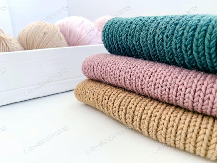 knitting work at home
