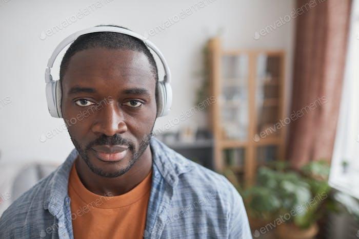 Black Guy In Headphones