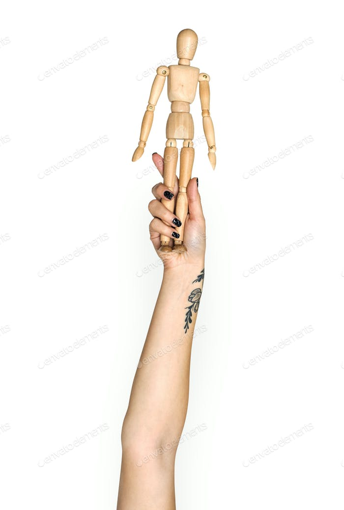 Hand holding variation of object
