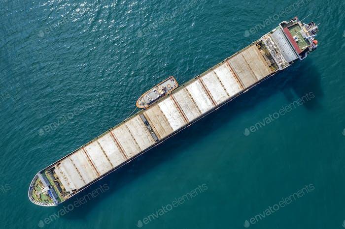 Big empty ship