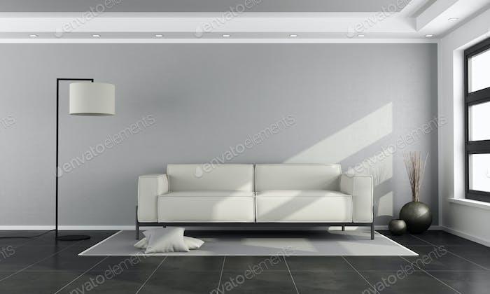 Miniomalist living room