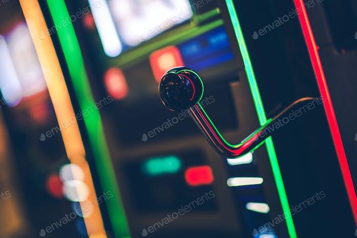 Thumbnail for Close Up Shot Of Casino Slot Machine.