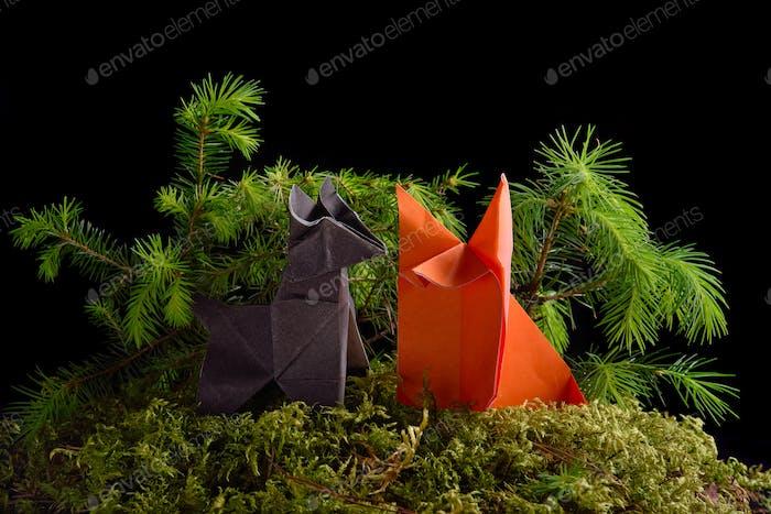 Origami-Tiere
