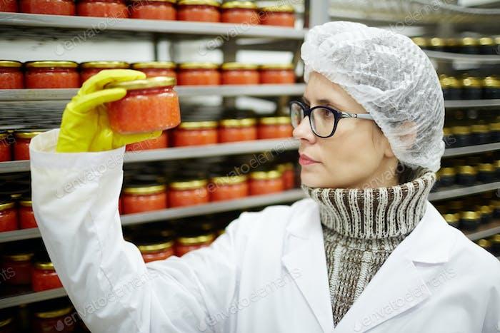 Kaviar-Experte