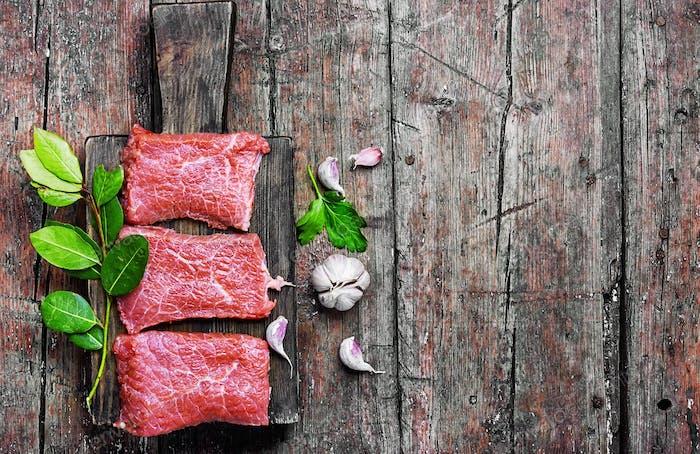 Rohfleisch Steak