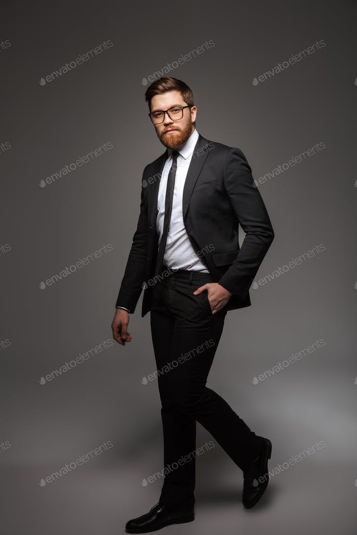 Full length portrait of a confident young businessman