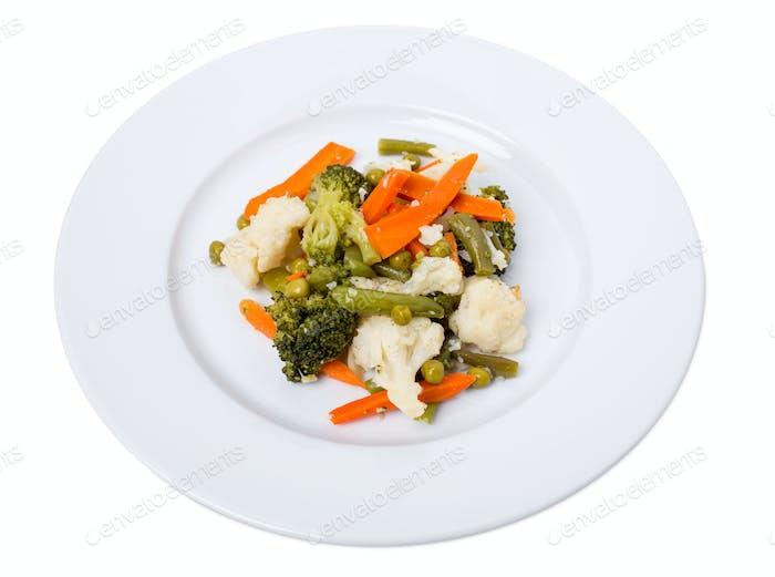 Köstliches gemischtes Gemüse.
