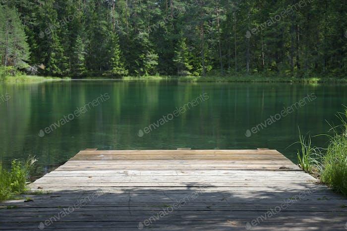 Lake in Estonia