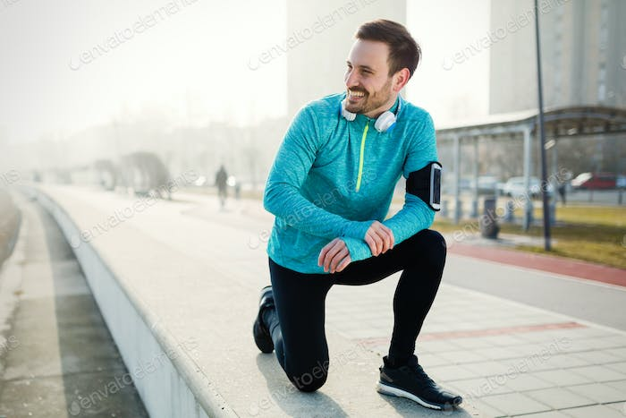 Running and jogging are great fitness exercises for staying heal