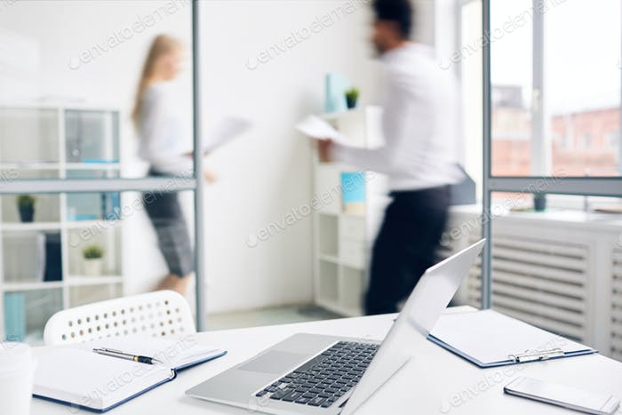 Workplace of accountant
