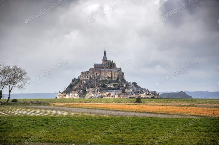 Mont Saint Michel monastery