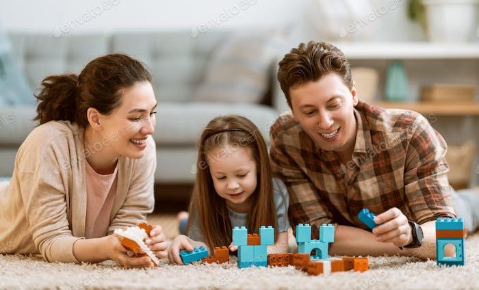 Glückliche Familienzeit!