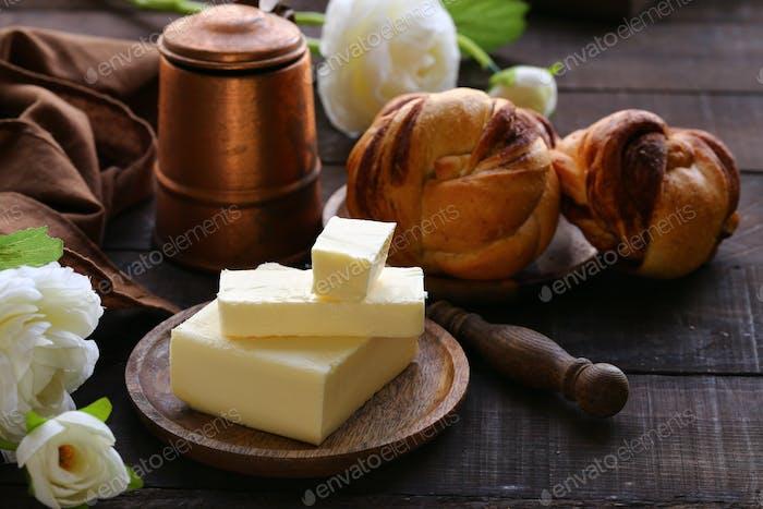 Natürliche Bio-Butter