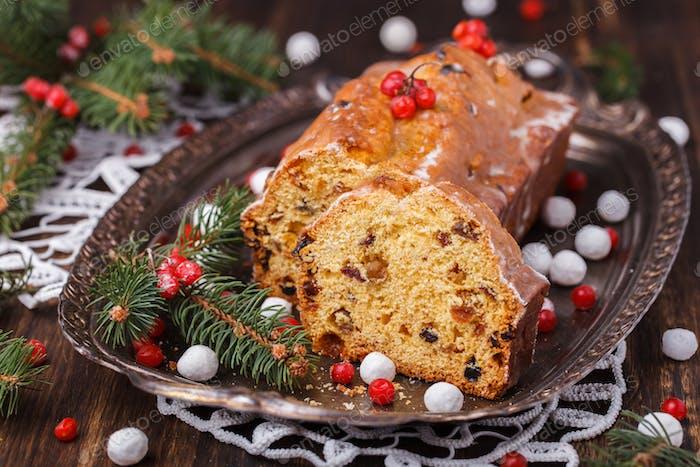 Weihnachts Früchtekuchen