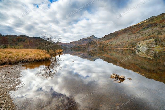 Autumn at Llyn Gwynant
