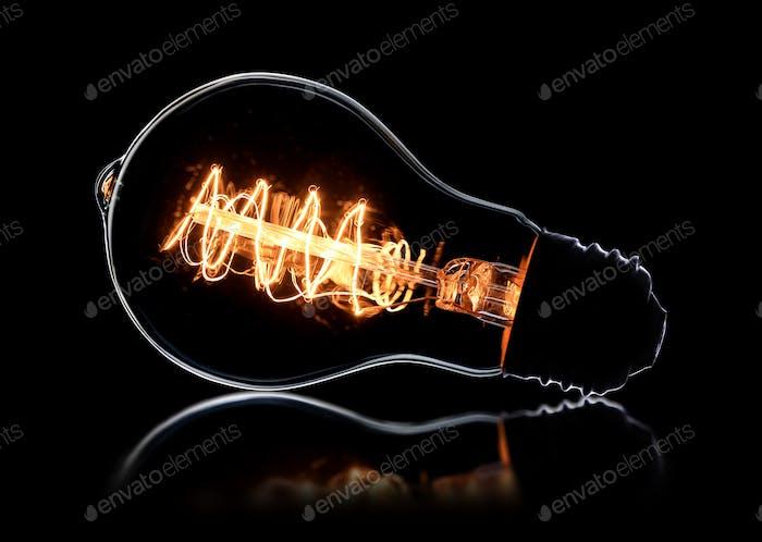 Vintage-Glühbirne