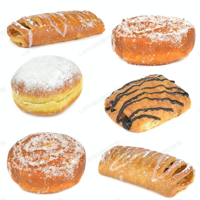Selection of Cakes and Pastries