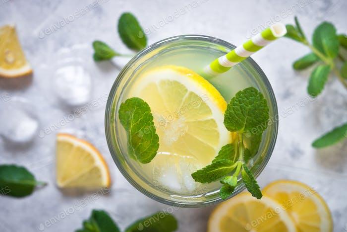 Lemonade. Traditional Summer drink.