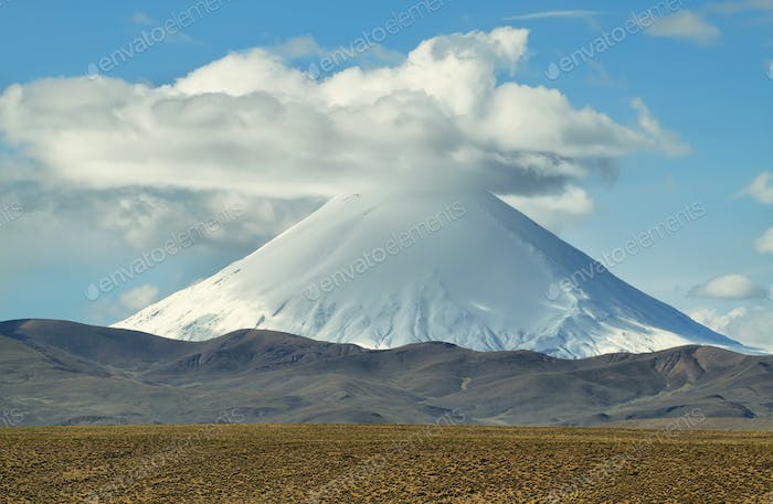 arinacota and Pomerape volcanoes