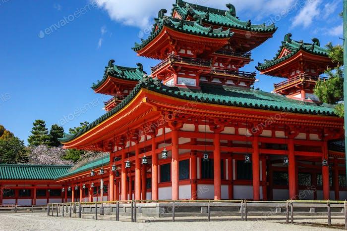 Heian Shrine in Kyoto - Japan