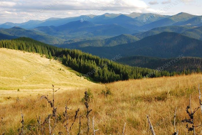 Berg Kukul im Herbst